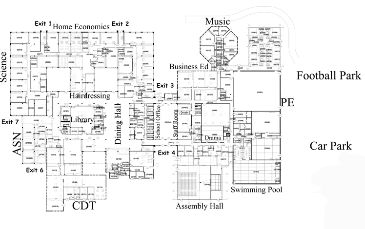 Map - Downstairs
